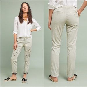 Chino by Anthropologie relaxed tan khaki pants
